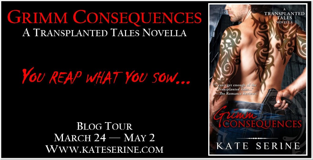Grimm Consequences Blog Tour Banner